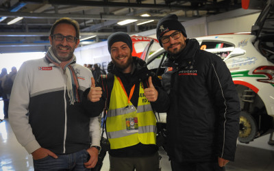 Monza Rally Show 2015 insieme a Peugeot Italia