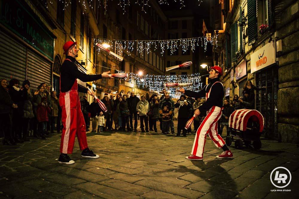 Artisti della Compagnia Teatro Scalzo Capodanno di Genova 2016