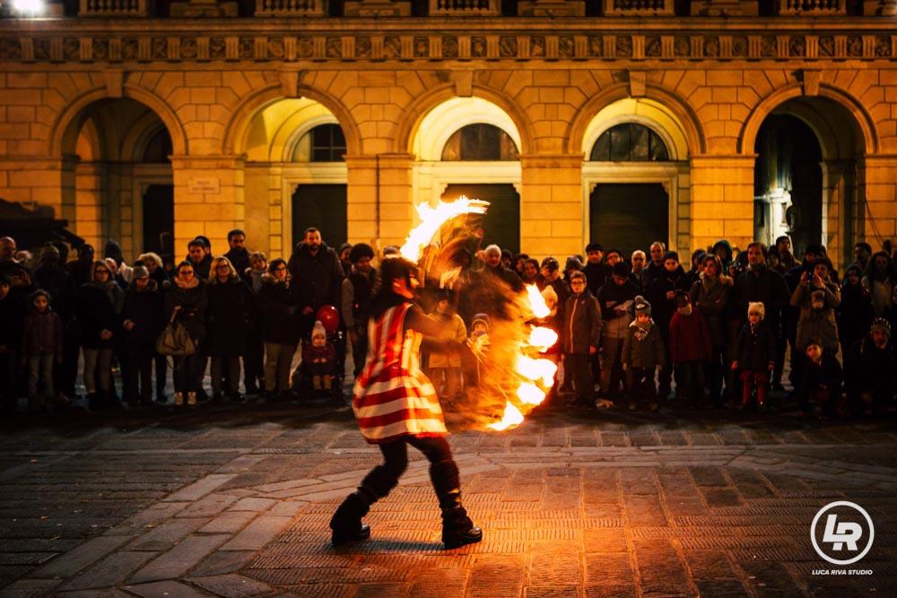 Artisti Compagnia Teatro Scalzo Capodanno di Genova 2016