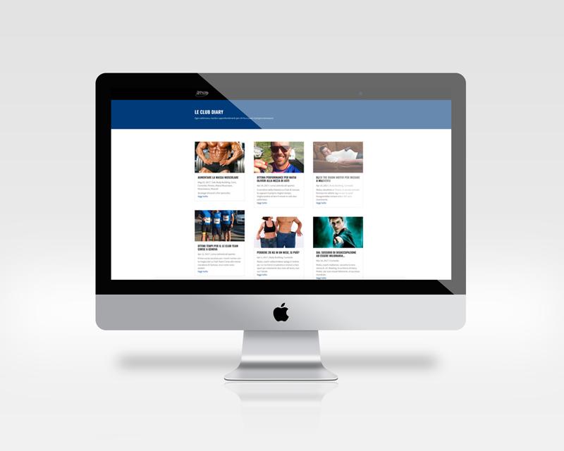 sito internet palestra
